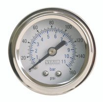 Single Needle Gauge (White 160psi)
