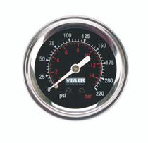 Single Needle Gauge (Black 220psi)
