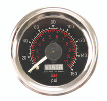 Dual Needle Gauge (Black 160psi)