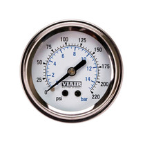 Dual Needle Gauge (White 220psi)