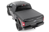 "Ford Soft Tri-Fold Bed Cover w/ Cargo Management System (15-18 F-150)(6'5""Bed)"