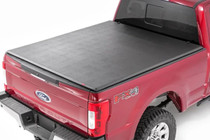 Ford Soft Tri-Fold Bed Cover (17-18 Super Duty)(8'Bed)
