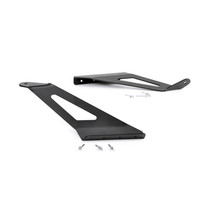 GM 50 IN Curved LED Light Bar Upper Windshield Mounts (15-19 2500HD/3500HD)
