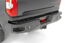 Toyota Heavy-Duty Rear LED Bumper (14-18 Tundra) mounted view