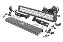 Jeep 20IN LED Bumper Kit (11-19 WK2 Grand Cherokee)(Chrome Series w/ Amber DRL)