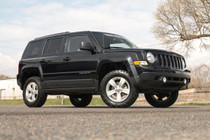 2in Jeep Suspension Lift Kit (10-17 Patriot 4WD) side view