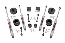 2.5IN Jeep Suspension Lift Kit | Spacers (18-19 Wrangler JL) with Premium N3 Shocks