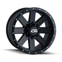 ION 134 Matte Black/Black Beadlock 18X9 8-170 0mm 130.8mm