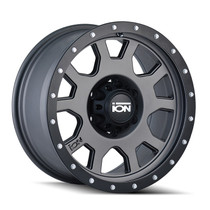 ION 135 Matte Gunmetal/Black Beadlock 15X8 5-120.65 -20mm 83.82mm