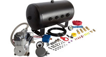 Nathan Airchime K5HA 5 Gallon Train Horn Kit (Viair 400C Compressor) - compressor close up