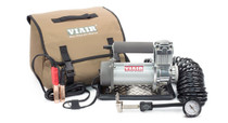 Viair 400P Automatic Portable Air Compressor w/ 25 FT Coil Hose & Tire Chuck