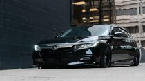 2018-2019 Honda Accord Air Lift Kit with Manual Air Management - Front View