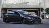 2008-2015 Mitsubishi Lancer Evolution (10) Air Lift Kit with Manual Air Management