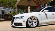 2008-2018 Audi C7 Platform Air Lift Kit with Manual Air Management - wheel view