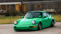 1989-1990 Porsche 911 Air Lift Kit with Manual Air Management