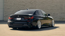 2020 BMW 3 Series (G20) and Touring (G21) Air Lift Kit Manual Air Management - rear end view on vehicle