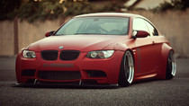 2004-2014 BMW (E8X & E9X) Air Lift Kit with Manual Air Management w/ NO SHOCKS- front side view
