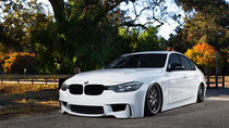 2012-2014 BMW (2/3/4 Series)(3 Bolt) Air Lift Kit with Manual Air Management