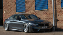 2014 BMW M3/M4 (3 Bolt) Air Lift Kit with Manual Air Management