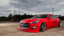 2009-2016 Hyundai Genesis Coupe Air Lift Kit with Manual Air Management