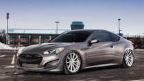 2009-2016 Hyundai Genesis Coupe Air Lift Kit with Manual Air Management w/ NO SHOCKS