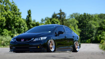 2014-2015 Honda Civic Si Air Lift Kit with Manual Air Management