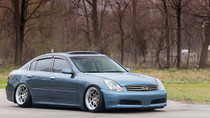 2004-2006 Infiniti G35X Air Lift Kit with Manual Air Management