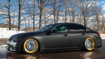 2007-2013 Infiniti G35x/G37x Air Lift Kit with Manual Air Management