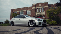 2014-2019 Infiniti Q50 RWD Air Lift Kit with Manual Air Management