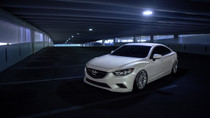 2014-2016 Mazda 6 Air Lift Kit with Manual Air Management - Front view