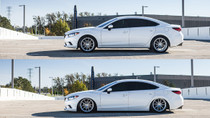 2014-2016 Mazda 6 Air Lift Kit with Manual Air Management - vehicle up and down view