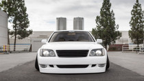 1989-2000 Lexus LS 400 Air Lift Kit with Manual Air Management - vehicle front view