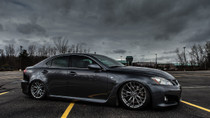 2006-2014 Lexus IS/ISF RWD/GS RWD Air Lift Kit with Manual Air Management - vehicle side view