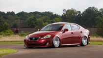 2006-2013 Lexus IS/GS AWD Air Lift Kit with Manual Air Management - vehicle side view