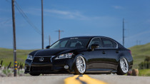2013-2019 Lexus IS/GS/RC RWD Air Lift Kit with Manual Air Management - vehicle front view