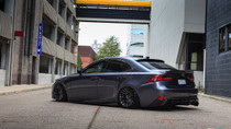 2013-2019 Lexus IS/GS/RC RWD Air Lift Kit with Manual Air Management - vehicle rear side view
