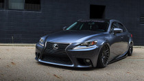 2013-2019 Lexus IS/RC/GS AWD Air Lift Kit with Manual Air Management - vehicle front view