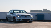 2008-2015 Mercedes C-Class (W204)(AWD) Air Lift Kit with Manual Air Management - full view