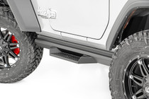 Jeep DS2 Drop Steps (18-19 Wrangler JL | 2 Door) mounted view