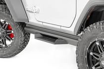 Jeep DS2 Drop Steps (18-19 Wrangler JL | 2 Door) mounted view