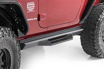 Jeep DS2 Drop Steps (07-18 Wrangler JK | 2 Door) mounted view