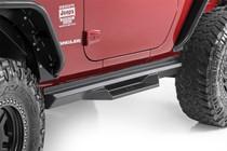 Jeep DS2 Drop Steps (07-18 Wrangler JK | 2 Door) mounted view