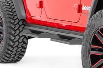 Jeep DS2 Drop Steps (18-19 Wrangler Unlimited JL | 4 Door) - close up view