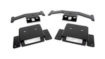 2017-19 Nissan Titan 4WD Rear Helper Bag Kit - mounting brackets