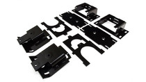 2009-2019 Dodge Ram 1500 Rear Helper Bag Kit - mounting brackets
