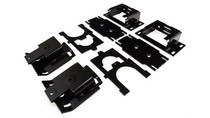 2009-2019 Dodge Ram 1500 Ultimate Rear Helper Bag Kit - mounting brackets