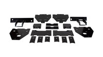 2017-2019 Ford F-250/F-350/F-450 Super Duty XL Rear Helper Bag Kit - mounting brackets