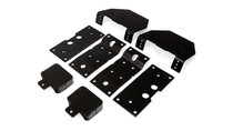 2017-2019 Ford F-250/F-350/F-450 Super Duty Ultimate Plus Rear Helper Bag Kit - mounting brackets