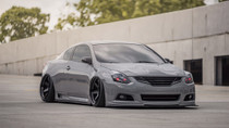 2007-2014 Nissan Altima/Maxima Air Lift Kit with Manual Air Management - front view of vehicle
