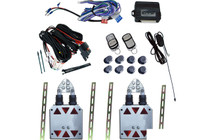 Universal Shaved Door Kit with a nice 8 Channel Remote System